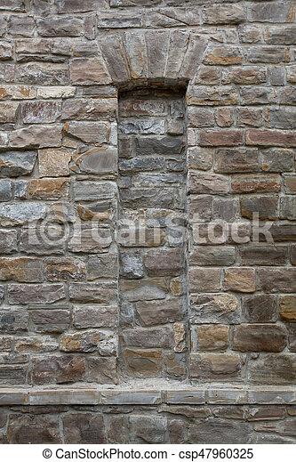 stone wall texture - csp47960325