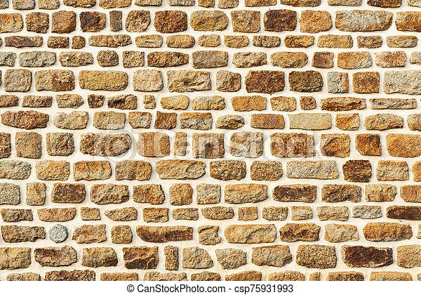 Stone wall texture - csp75931993