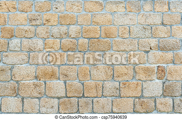 Stone wall texture - csp75940639