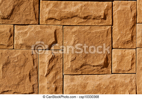 stone walls with beautiful colors  - csp10330368