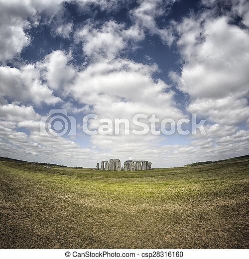 stonehenge - csp28316160