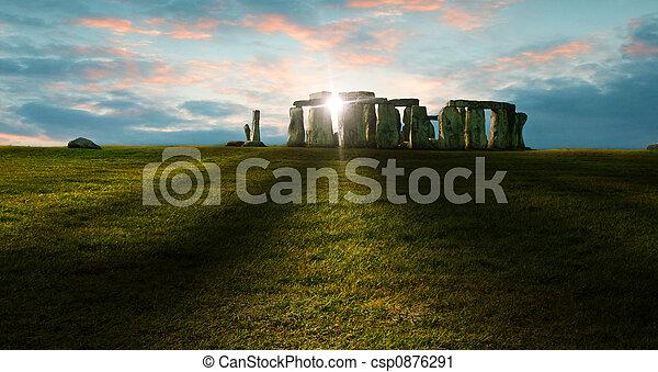 stonehenge - csp0876291