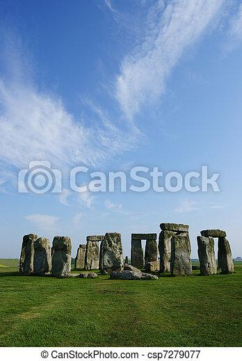 stonehenge - csp7279077