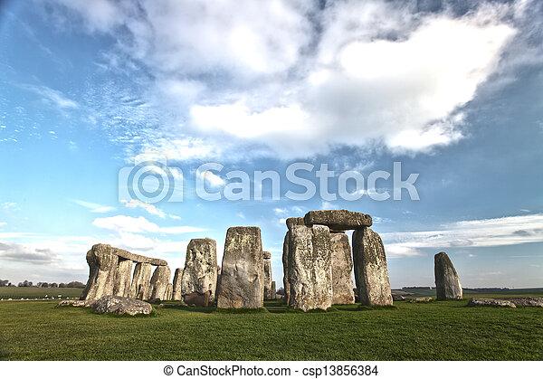 stonehenge - csp13856384