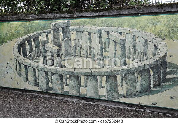 stonehenge - csp7252448