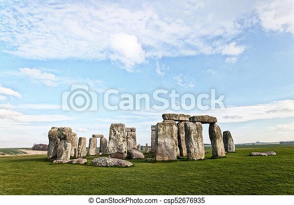 stonehenge - csp52676935