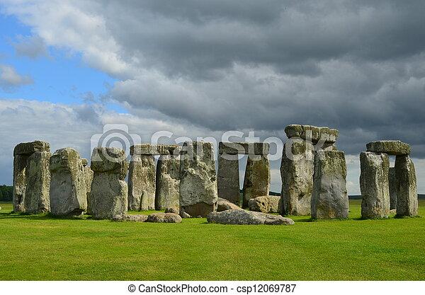 Stonehenge - csp12069787