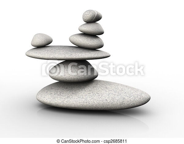 Stones in balance - csp2685811