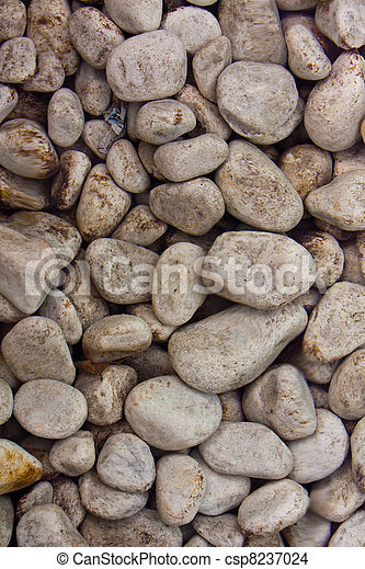 Stones in clear water background - csp8237024