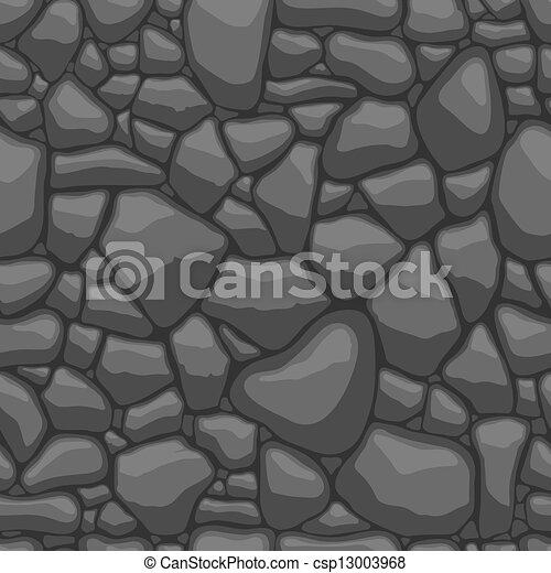 Stones seamless pattern - csp13003968