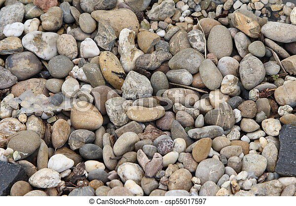 Stones under the surface of water - csp55017597