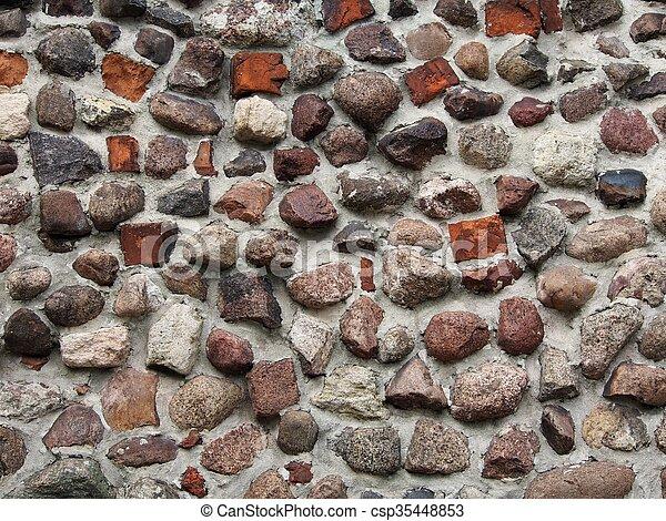 Stony Wall - csp35448853