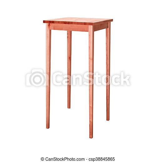 stool isolated on white background - csp38845865