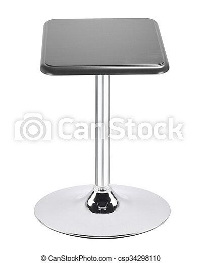 stool on a white background - csp34298110