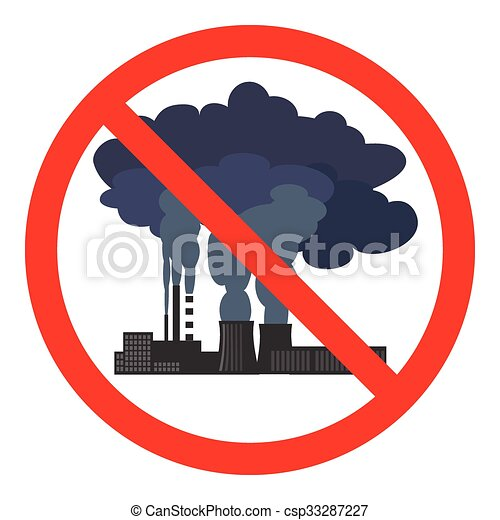 stop air pollution sign vector illustration stop air pollution rh canstockphoto com air pollution clipart images air pollution clipart free