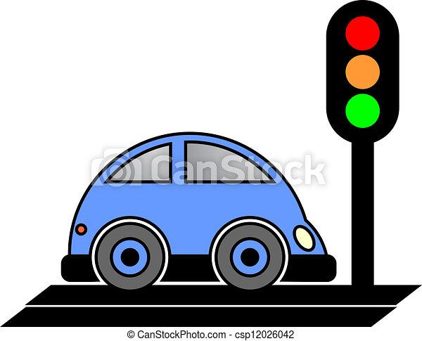 Stop Car Creative Design Of Stop Car Eps Vector Search Clip Art