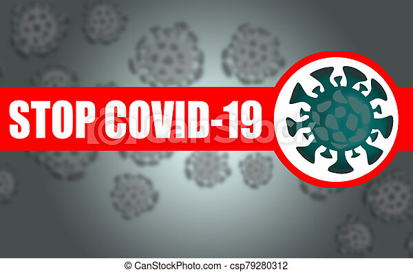 Stop Coronavirus COVID-19 concept - csp79280312
