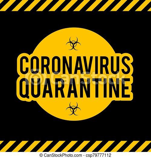 Stop Coronavirus COVID-2019 on blue background. Virus 2019-nCoV cells. - csp79777112