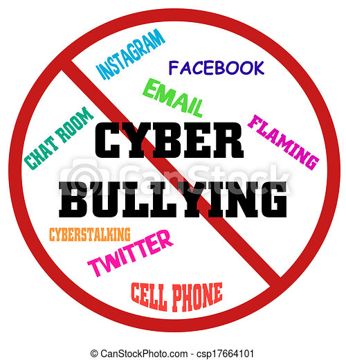 stop cyber bullying put a stop to cyber bullying rh canstockphoto com Prevent Cyberbullying Pictures About Cyberbullying