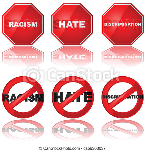 Stop discrimination - csp6363037