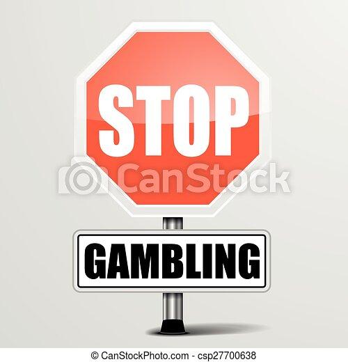 Stop Gambling - csp27700638