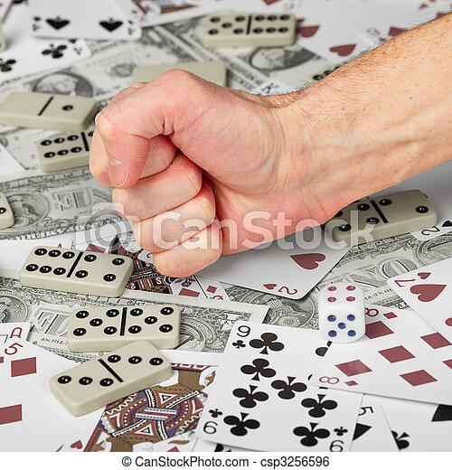 Stop gambling! - csp3256596