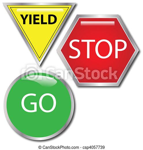 Stop-Go-Yield - csp4057739