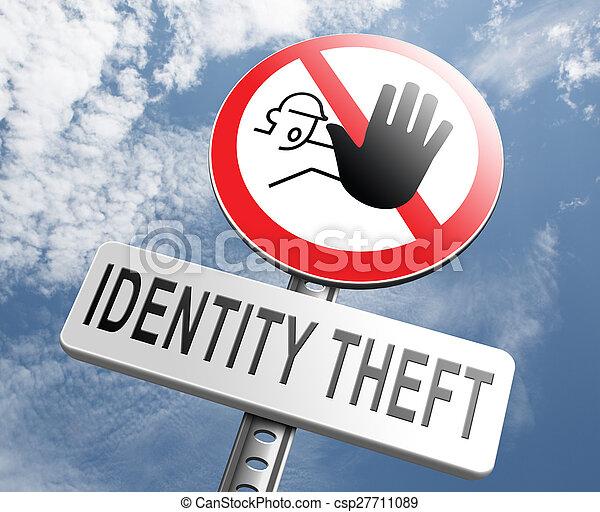 Stop identity theft - csp27711089