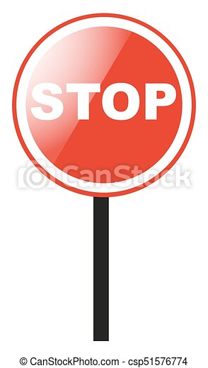 stop sign on white background illustration rh canstockphoto com stop sign graphic art stop sign graphics morrisville