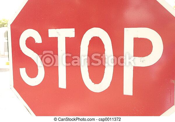 Stop Sign - csp0011372