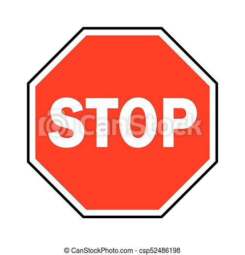 stop sign vector illustration red traffic sign stop eps vectors rh canstockphoto com stop sign clip art images stop sign clip art free