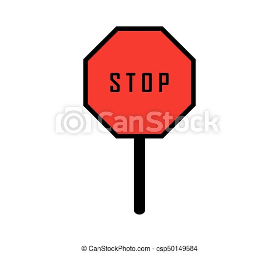 stop signal icon vector search clip art illustration drawings rh canstockphoto ie stop sign graphics morrisville nc stop sign graphic free