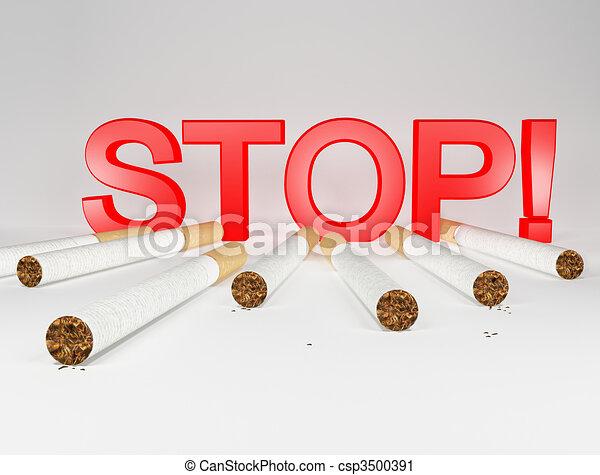Stop smoking - csp3500391