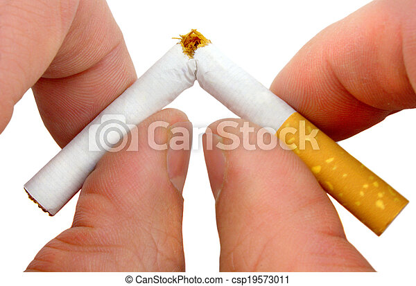 Stop smoking now - csp19573011