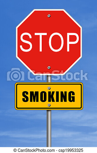 stop smoking - csp19953325