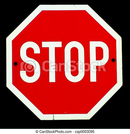 Stop - csp0003095