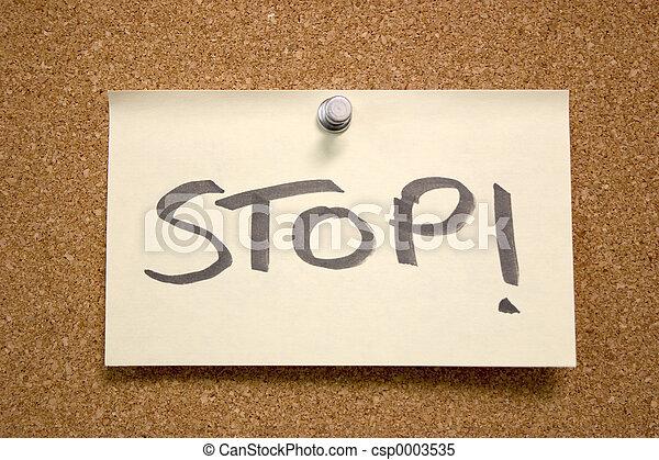 Stop! - csp0003535
