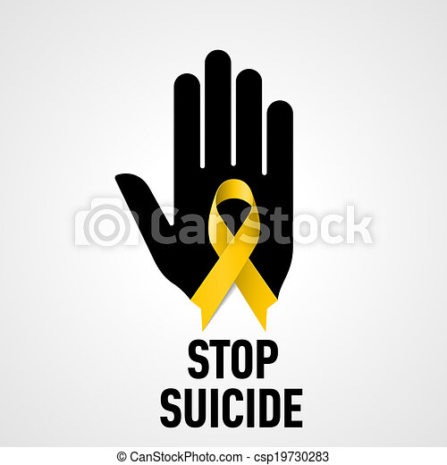 Stop Suicide sign - csp19730283
