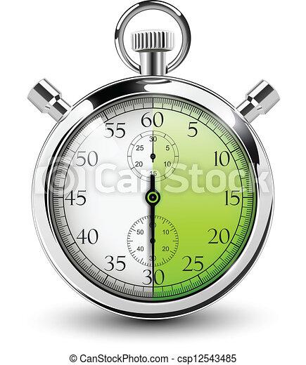 stop watch. - csp12543485