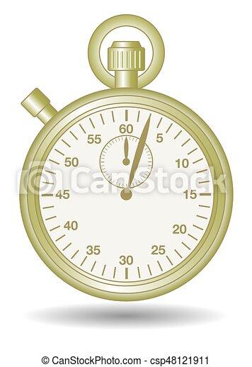 stopwatch gold - csp48121911