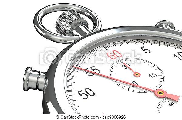 Un cronómetro. - csp9006926