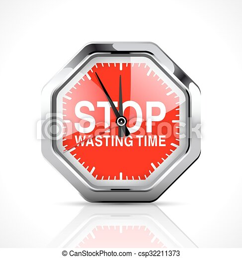 Stopwatch - Stop wasting time - csp32211373