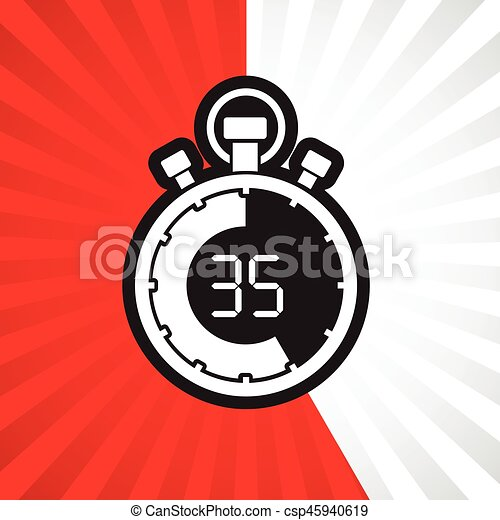 stopwatch thirty five minute