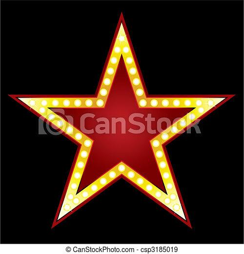 stor stjärna - csp3185019