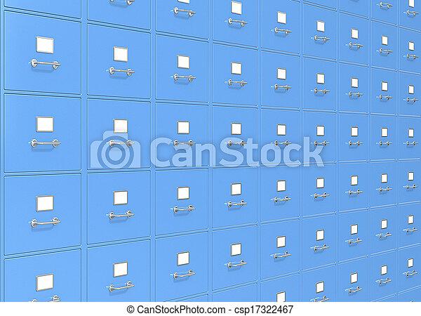storage., bestand - csp17322467