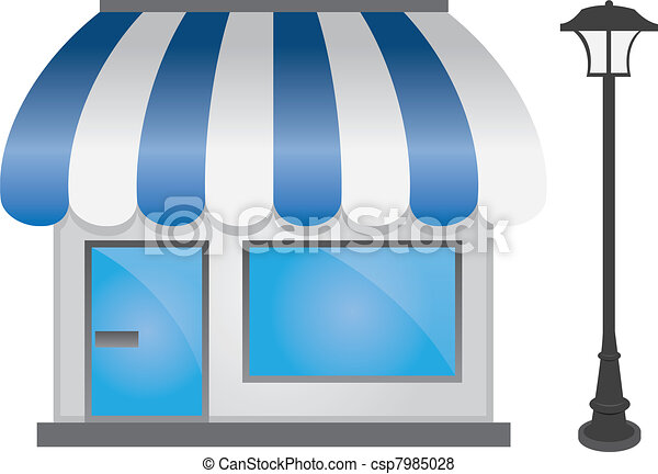 Store Front - csp7985028