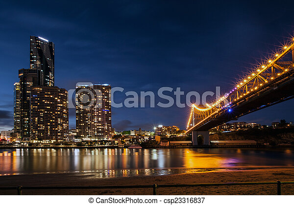 storey bridge - csp23316837