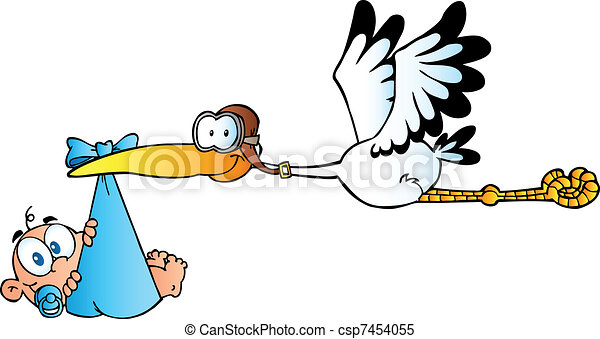 stork delivering a newborn baby boy baby adoption stork clipart rh canstockphoto com stock clipart stock clipart free