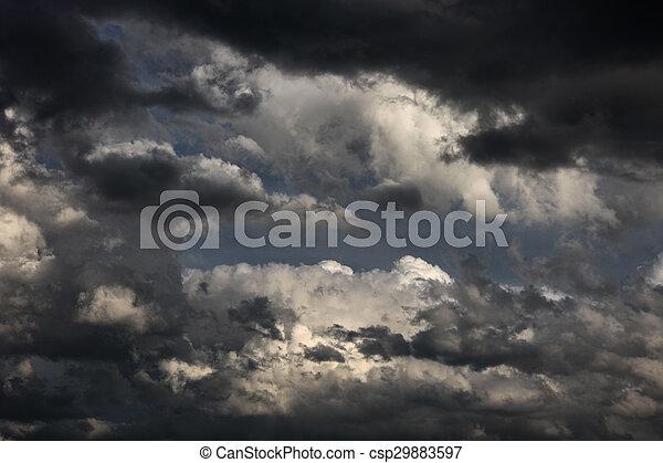 Storm Clouds Gathering - csp29883597