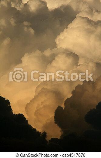 Storm clouds over Saskatchewan - csp4517870